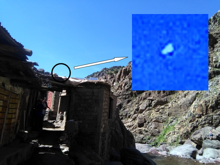 UFO photographed in Toubkal (Morocco) &#45; 14<sup>th</sup> May, 2017