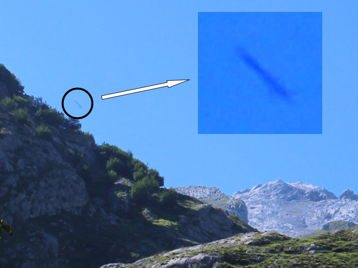 UFO photographed in Picos de Europa (Asturias &#45; Spain) &#45; 15<sup>th</sup> July, 2017