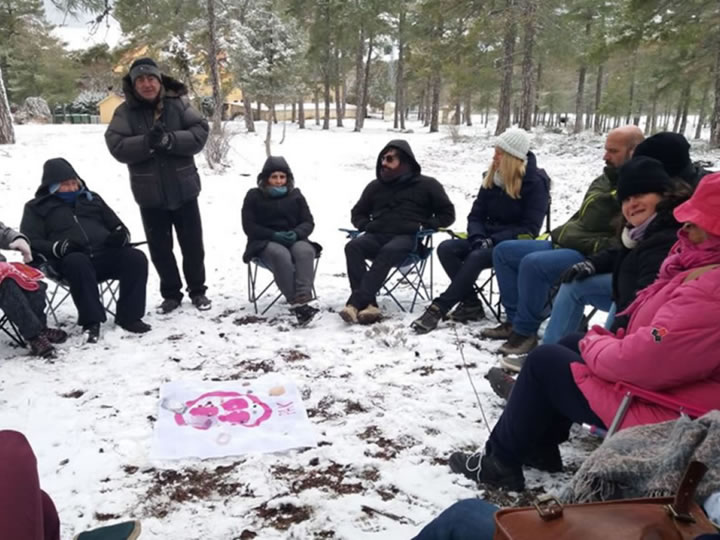 Meditation and Contact Meeting held in Ciudad Encantada (Cuenca &#45; Spain) &#45; 23<sup>rd</sup>, 24<sup>th</sup> and 25<sup>th</sup> March, 2018